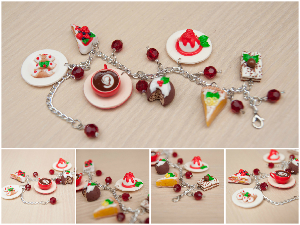 Браслет «Итальянские десерты»