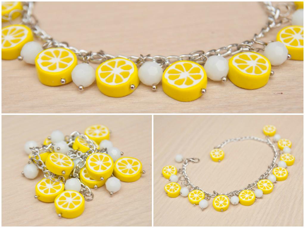 Браслет «Лимон»