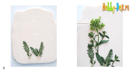 Текстурный лист при помощи Sculpey Mold Maker