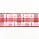 400125 Лента декоративная 'Следы-слюнявчики', голубая