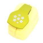 400127 Лента декоративная 'Мишки-зонтики', светло-зелёная
