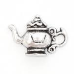300604 Подвеска 'Чайник' античное серебро