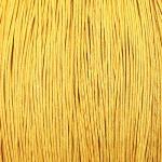 400173 Шнур вощеный (5 м), жёлтый, 1 мм