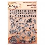 Mr.Painter Набор штампов МАЛЫШИ №1, 14х18 мм