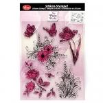 VIVA Decor Штампы силиконовые, Цветы и бабочки
